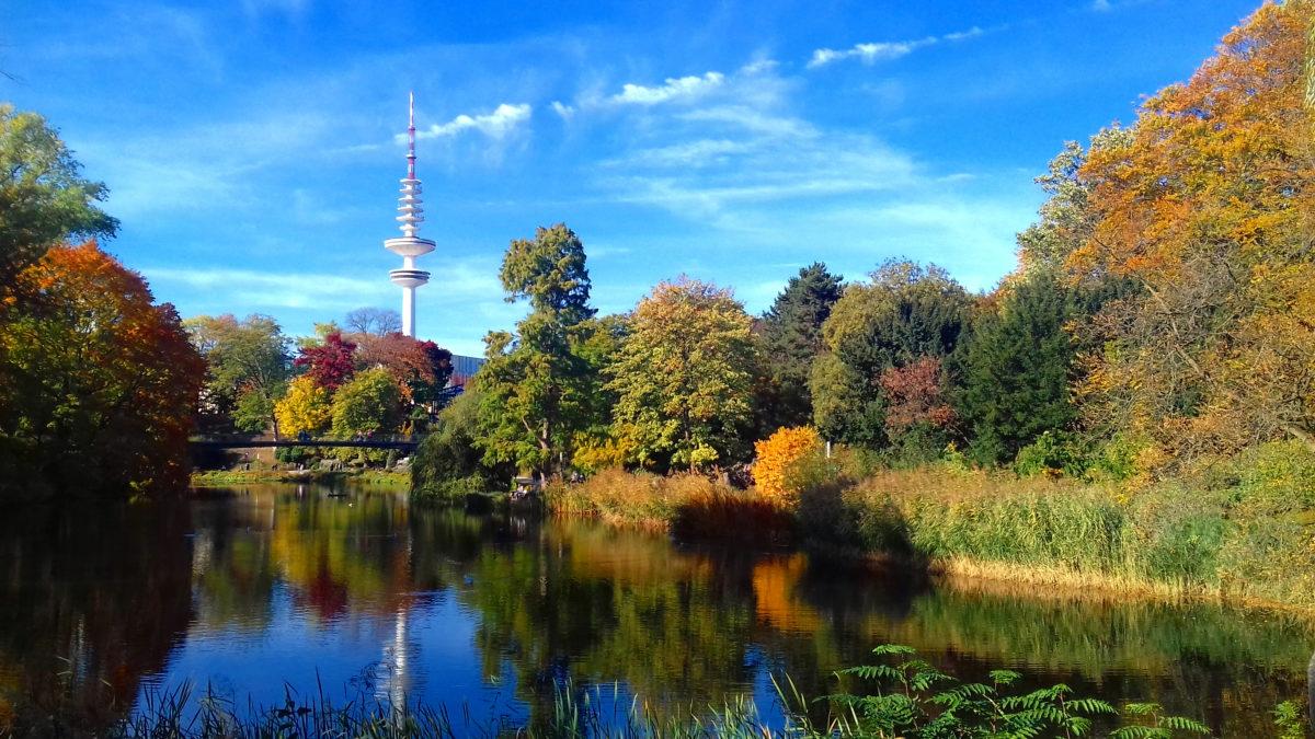 Hamburg, Planten op Bloomen